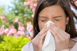 Аллергия - причина жжения в пищеводе и горле
