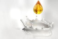 Теплое молоко с медом для лечения мокроты в бронхах