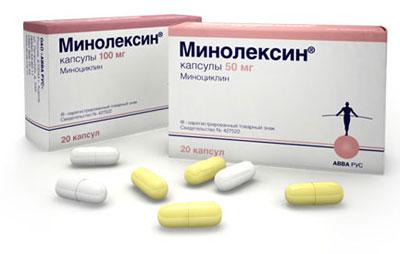 Таблетки Миноциклин