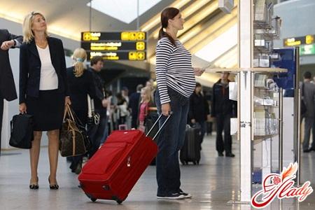 можно ли летать на самолете во время беременности