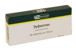 Эуфиллин при беременности для лечения бронхита