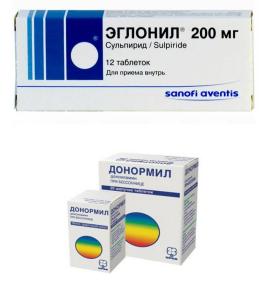 Седативные препараты: эглонил и донормил