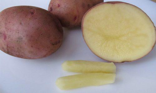 Для приготовления биточков с рыбой понадобится 200 г картофеля