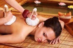 Целебное воздействие массажа во время посещения бани