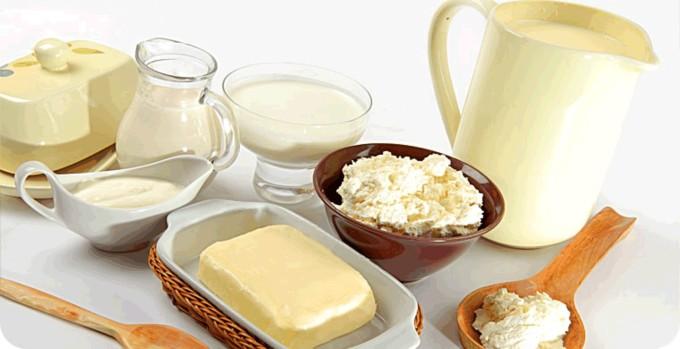 Сметана, творог и молоко