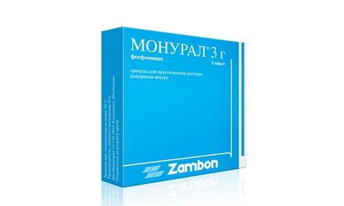 Для лечения цистита можно использовать препарат Монурал, который избавляет от причины возникновения воспаления