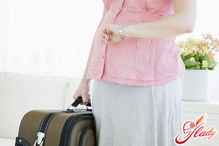 полет на самолете во время беременности