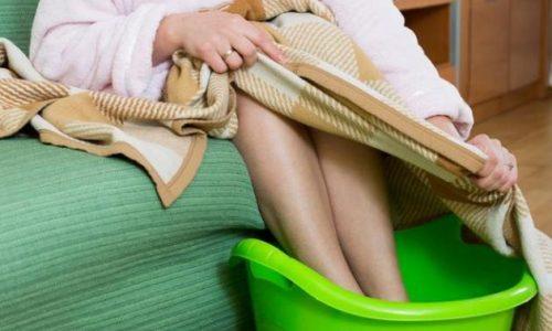 Парить ли ноги при цистите