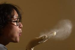 Пыль - причина бронхита
