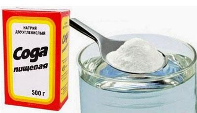 Приготовление раствора из соды