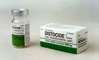 Для легкой формы течения заболевания подойдет препарат Празиквантел
