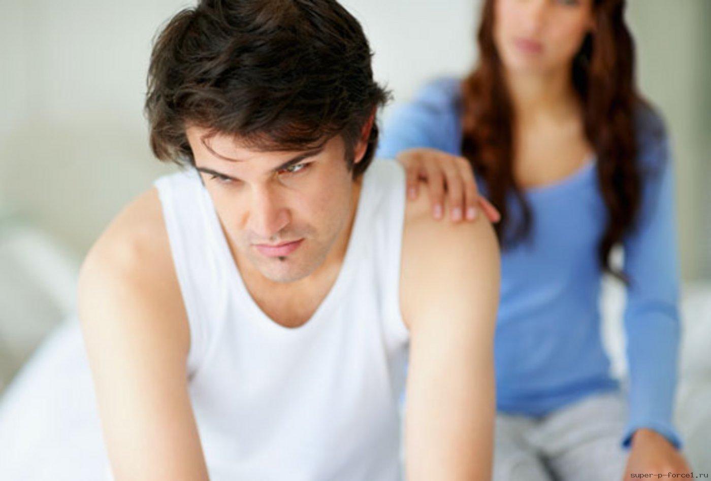 у мужчины преждевременная эякуляция