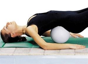 Упражнение при поясничном остеохондрозе