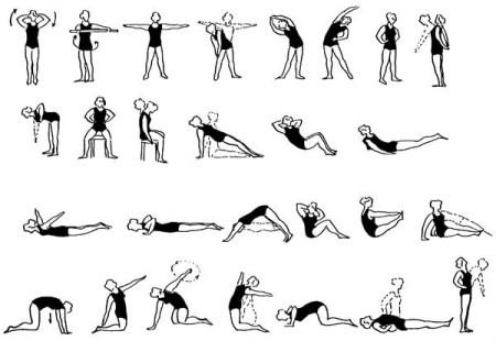 Комплекс упражнений эффективных для разминки при остеохондрозе