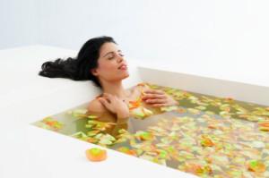Лечебные ванны для спины
