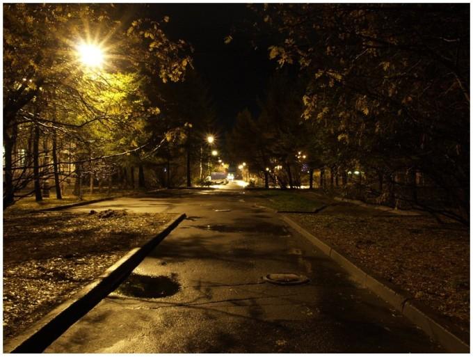 Прогулка по вечерам