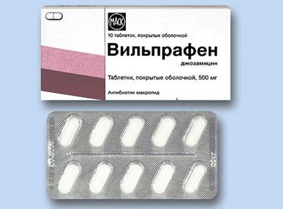 Препарат Джозамицин