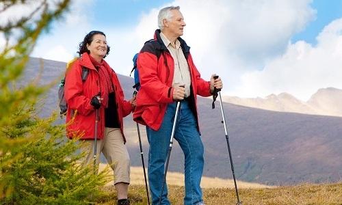 При панкреатите больному разрешено заниматься скандинавской ходьбой