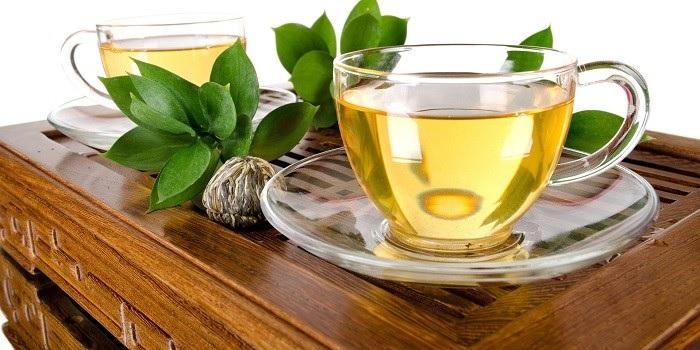Зеленый чай полезен