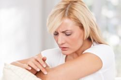 Зуд - симптом потницы